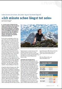 Markus Hänni: «Ich müsste schon längst tot sein»