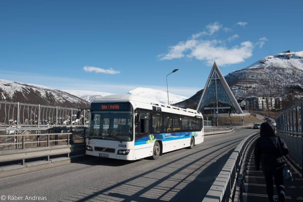 Ferien im Norden von Norwegen - Tromsoe