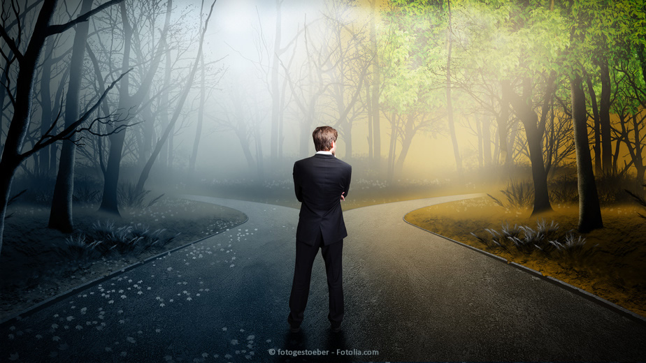 Sich neu beruflich oder privat orientieren. Neue Wege finden, dank Lebensberatung oder Coaching.