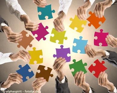 Gemeinsam helfen, mit all seinen Stärken