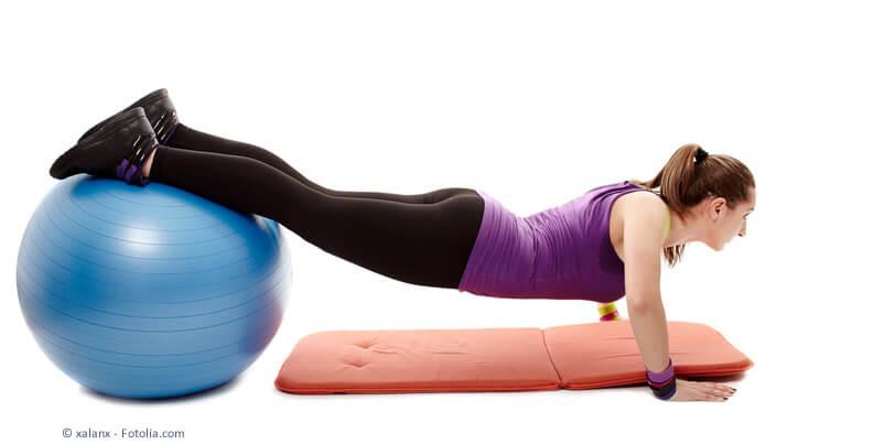 Muskelaufbau um die Haltung zu stärken