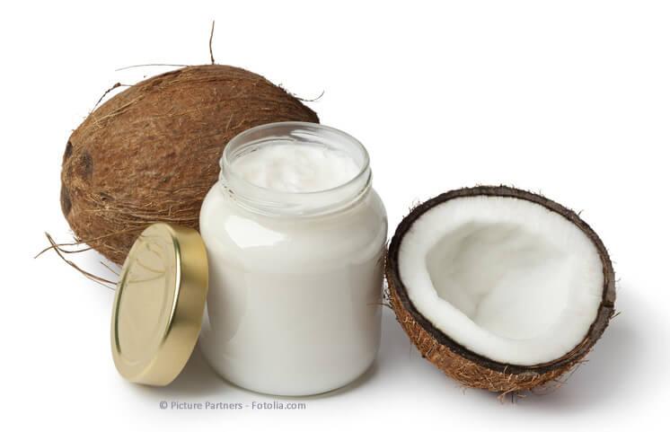 Gesundheit, Nahrungsergänzung und Superfoods (Bio Kokosöl)