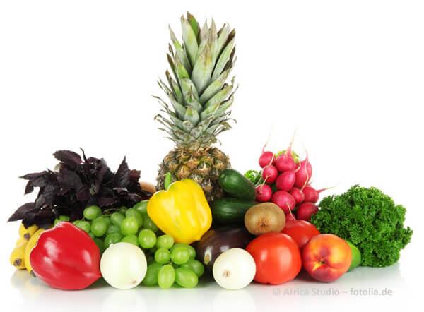 Von gesundem Essen profitiert der ganze Körper