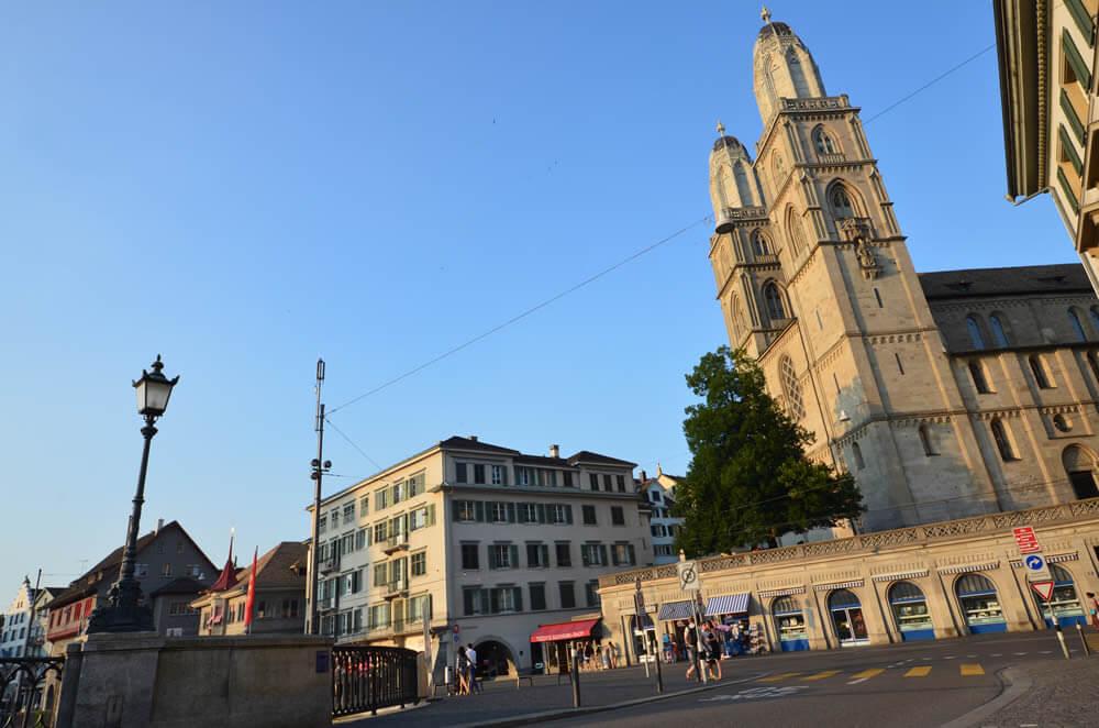 Zürich 2015: Fraumünster Kirche
