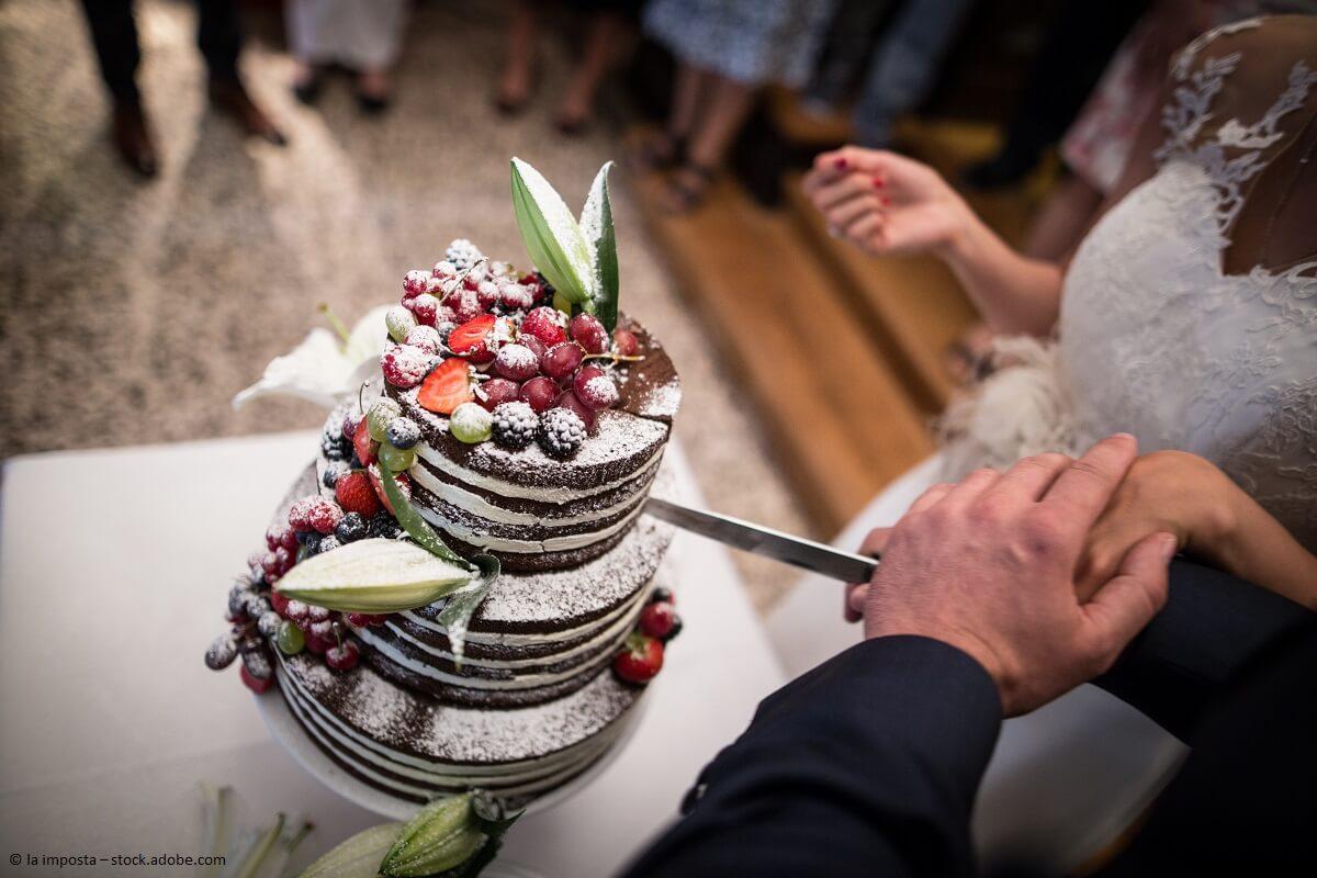 Die richtige Hochzeitstorte finden