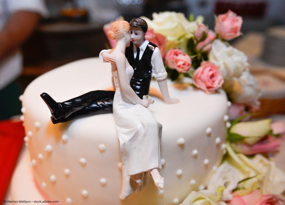 Hochzeitstorten sind fast keine Grenzen gesetzt