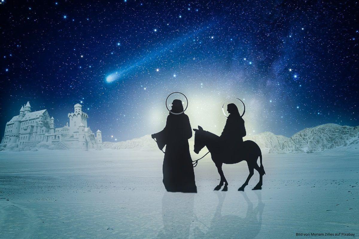 Weihnachten gestern, heute